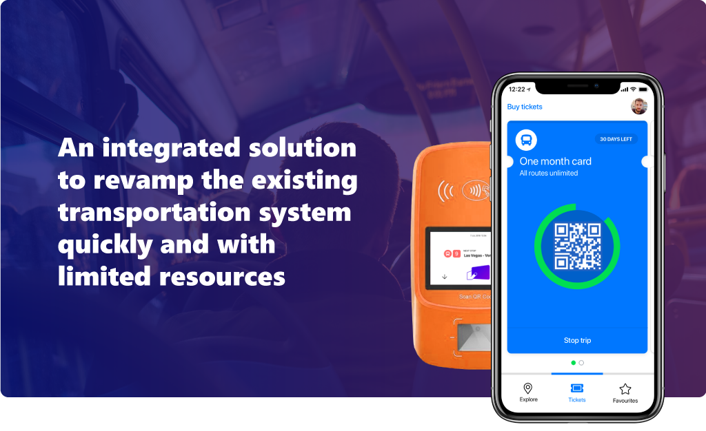 An integrated solution to revamp the existing transportation system quickly and with limited resources