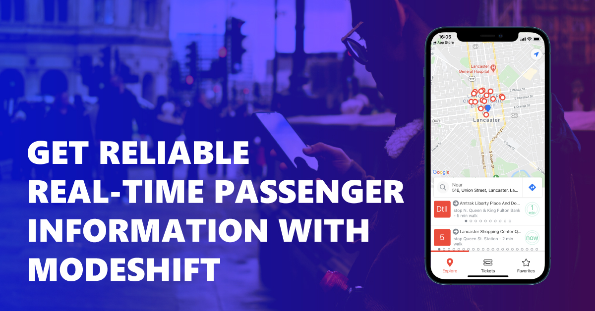 Being Right On Time Is Possible: Real-time Passenger Information, by Modeshift