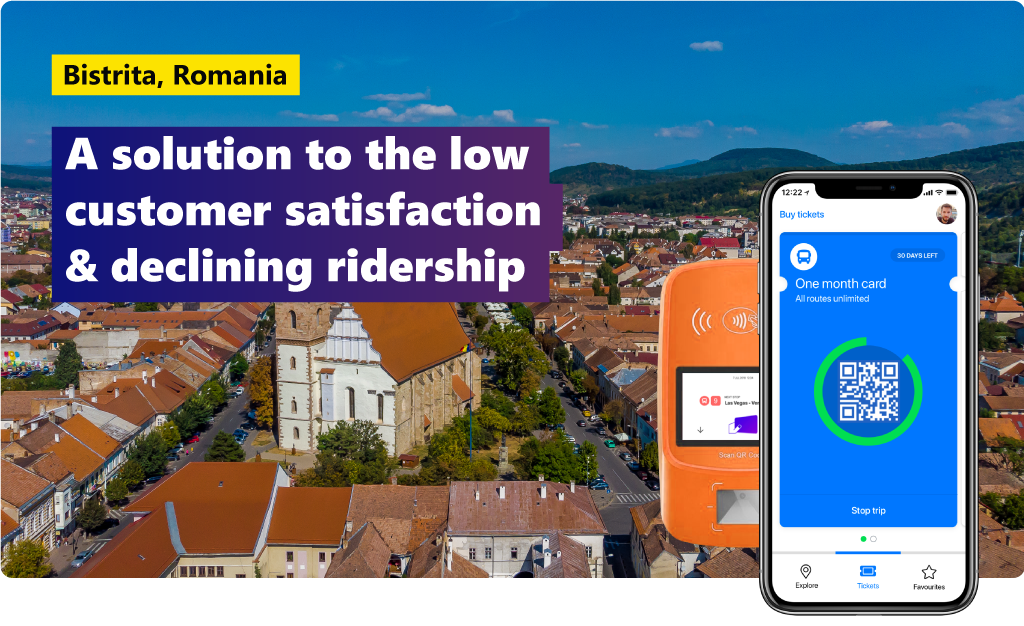 Bistrita, Romania: a solution to the low customer satisfaction & declining ridership of the public transportation system