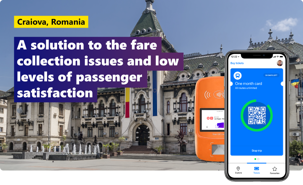Craiova, Romania: a solution to the fare collection issues & low levels of passenger satisfaction