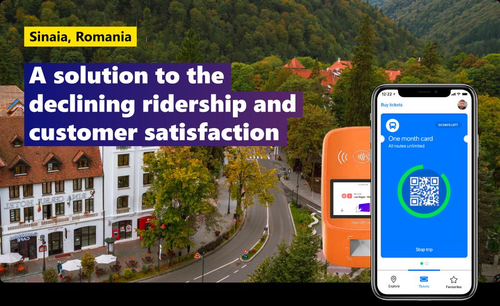 Sinaia, Romania: a solution to declining ridership and customer satisfaction