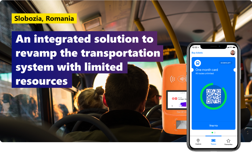 Slobozia, Romania: an integrated solution to revamp the existing transportation system quickly and with limited resources