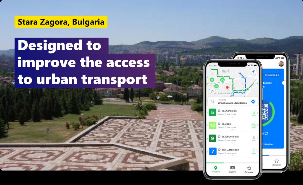 Stara Zagora, Bulgaria: a solution to improve the access to urban transport